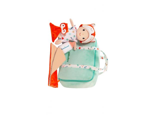 Мягкая кукла в переноске с игрушкой Lilliputiens «Алекс», фото , изображение 2