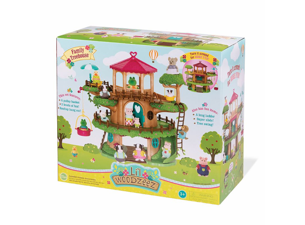Игровой набор Li'l Woodzeez «Домик на дереве» с аксессуарами, фото , изображение 2