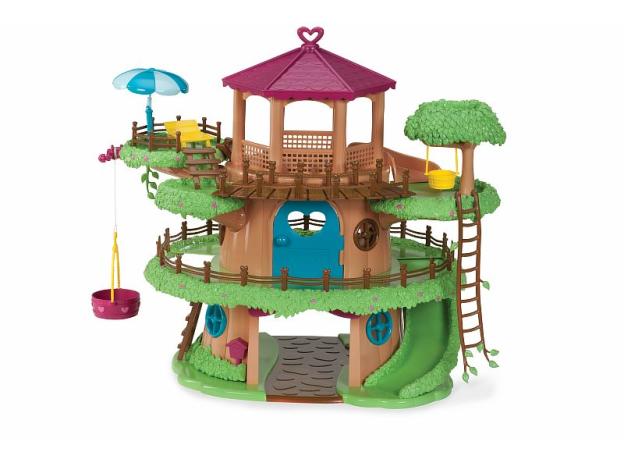 Игровой набор Li'l Woodzeez «Домик на дереве» с аксессуарами, фото , изображение 3