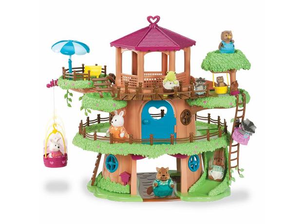 Игровой набор Li'l Woodzeez «Домик на дереве» с аксессуарами, фото