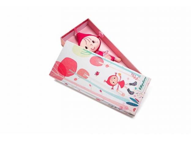 Кукла Lilliputiens «Красная шапочка» мягкая малая; подарочная упаковка, фото , изображение 3