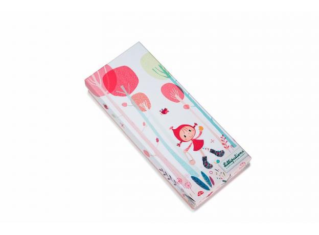Кукла Lilliputiens «Красная шапочка» мягкая малая; подарочная упаковка, фото , изображение 4