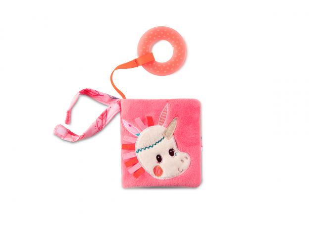 Книжка-игрушка Lilliputiens «Единорожка Луиза», фото