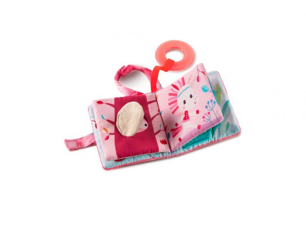 Книжка-игрушка Lilliputiens «Единорожка Луиза», фото , изображение 2
