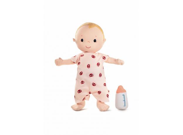 Мягкая кукла с бутылочкой Lilliputiens «Лу», фото , изображение 2