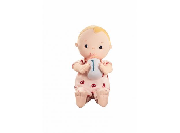 Мягкая кукла с бутылочкой Lilliputiens «Лу», фото , изображение 4