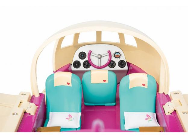 Игровой набор Li'l Woodzeez «Самолет» с аксессуарами, фото , изображение 3