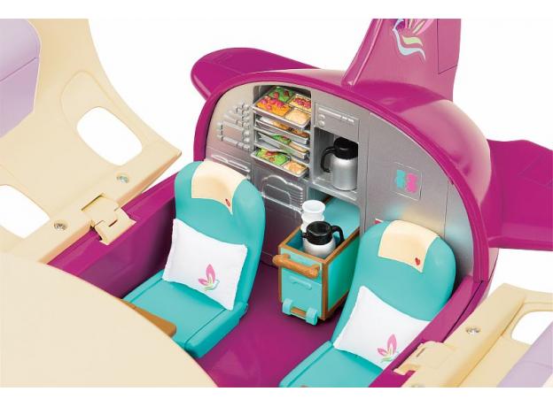 Игровой набор Li'l Woodzeez «Самолет» с аксессуарами, фото , изображение 4