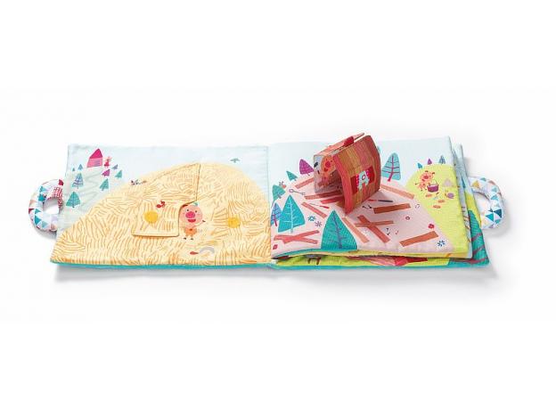 Мягкая книжка Lilliputiens «Три поросенка», фото , изображение 9