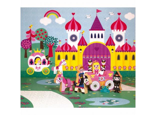 Набор деревянных фигурок Janod «Маленькие истории. Принцессы», фото , изображение 5