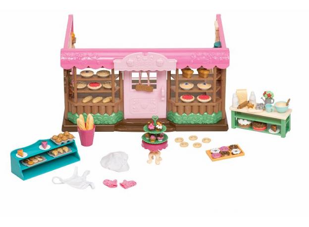 Игровой набор Li'l Woodzeez «Пекарня» с аксессуарами, фото , изображение 2