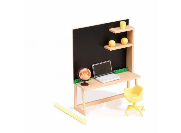 Игровой набор Lori «Рабочий уголок дома» с мебелью и аксессуарами, фото