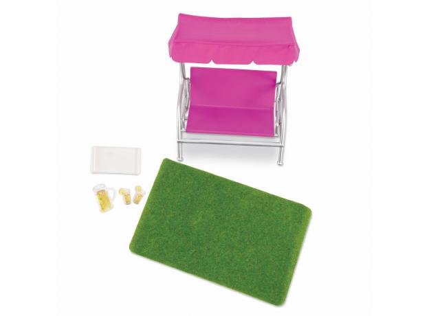 Игровой набор Lori «Патио в саду» с мебелью и аксессуарами, фото , изображение 2