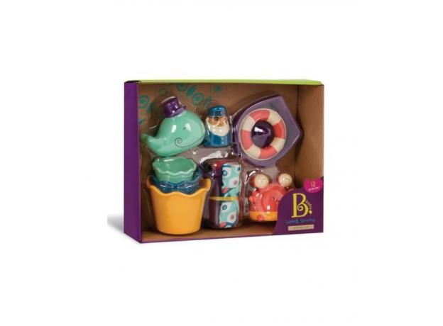 Набор игрушек для ванной B.Toys (Battat), фото , изображение 3