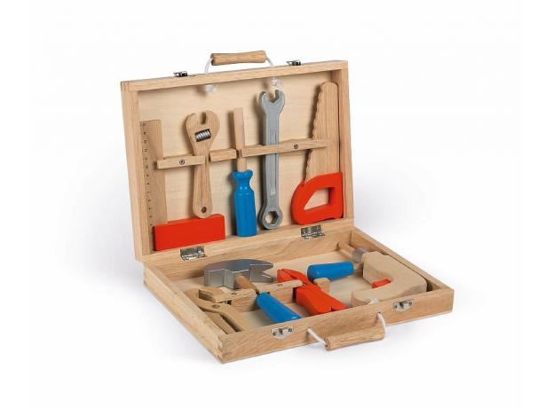 Набор инструментов Janod «Brico'Kids» в чемоданчике, фото