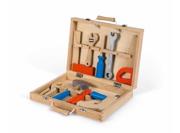 Набор инструментов Janod «Brico'Kids» в чемоданчике, фото , изображение 4