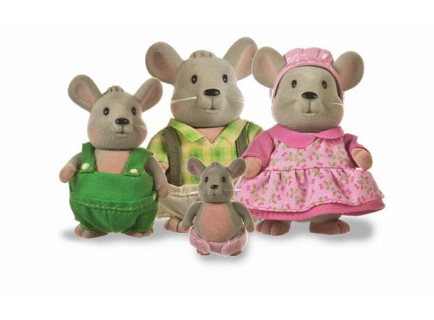 Игровой набор Li'l Woodzeez «Семья мышат», фото
