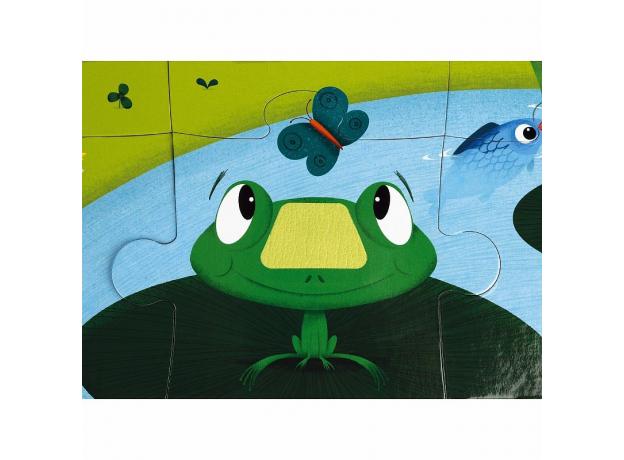 Пазл Janod «Животные на ферме» с разными текстурами: 20 элементов, фото , изображение 8
