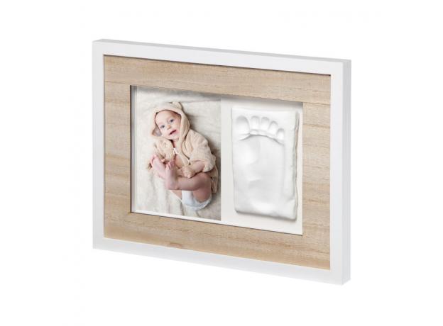 Рамочка одинарная Подвесканая Baby Art «Baby Style»; дерево, фото , изображение 3