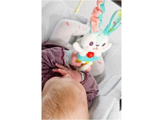 Погремушка с колокольчиком Lilliputiens «Кролик Селестин», фото