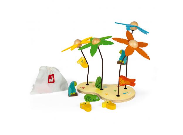 Сортер-игра Janod «Тропический остров»; серия «Я учу цвета», фото , изображение 3