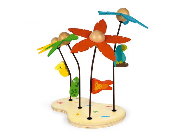 Сортер-игра Janod «Тропический остров»; серия «Я учу цвета», фото , изображение 4