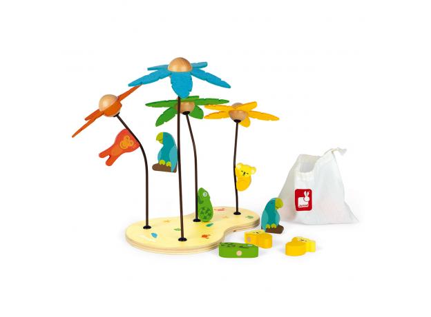 Сортер-игра Janod «Тропический остров»; серия «Я учу цвета», фото