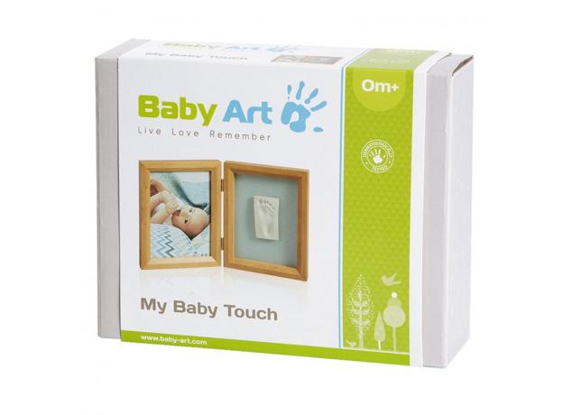 Рамочка двойная Baby Art «Классика»; дерево, фото , изображение 2