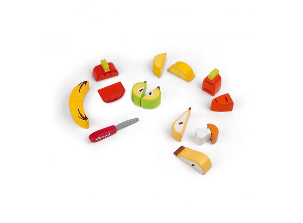 Объемный пазл Janod «Фрукты-овощи», фото , изображение 2