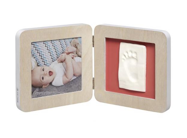 Рамочка двойная Baby Art «Модерн» с 4 цветными подложками; скандинавский дизайн, фото