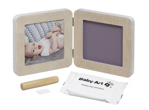 Рамочка двойная Baby Art «Модерн» с 4 цветными подложками; скандинавский дизайн, фото , изображение 2