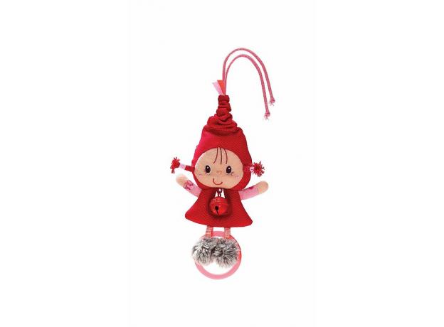 Погремушка с колокольчиком Lilliputiens «Красная Шапочка», фото , изображение 3