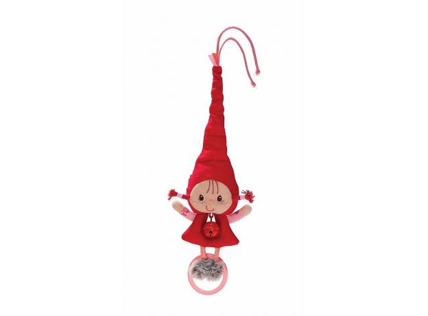 Погремушка с колокольчиком Lilliputiens «Красная Шапочка», фото