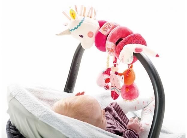 Подвеска спиральная Lilliputiens «Единорожка Луиза», фото