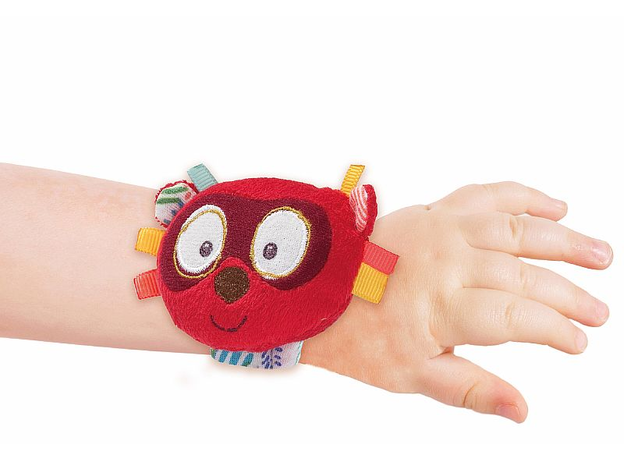 Погремушка на руку Lilliputiens «Лемур Джордж», фото