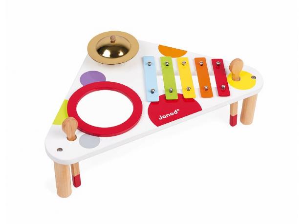 Стол музыкальный Janod «Конфетти», фото , изображение 3