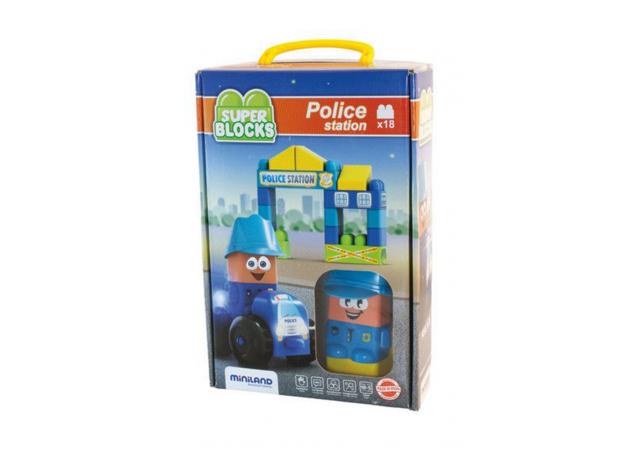32353 MINILAND Конструктор блочный Отделение полиции, фото , изображение 2