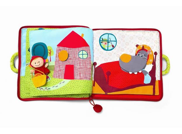 Мягкая книжка-игрушка Lilliputiens «Путешествие Красной Шапочки», фото , изображение 3