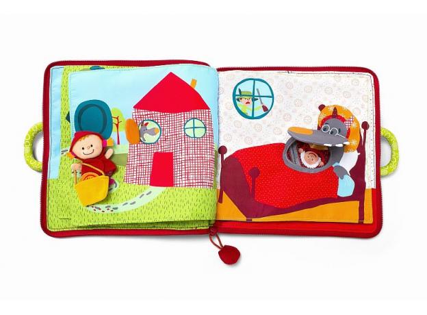 Мягкая книжка-игрушка Lilliputiens «Путешествие Красной Шапочки», фото , изображение 4
