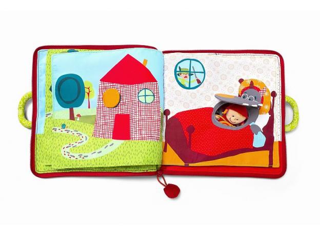 Мягкая книжка-игрушка Lilliputiens «Путешествие Красной Шапочки», фото , изображение 5
