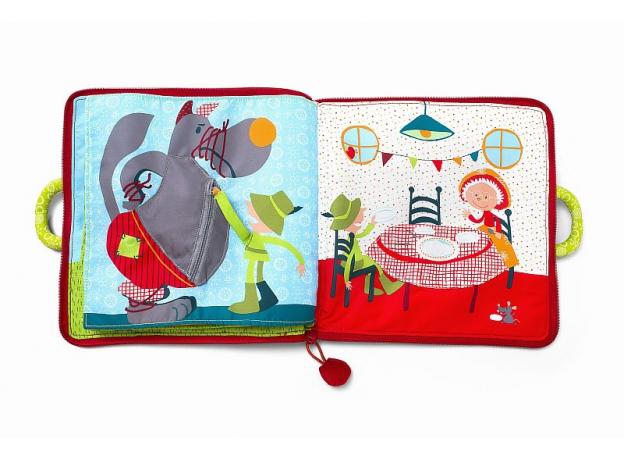 Мягкая книжка-игрушка Lilliputiens «Путешествие Красной Шапочки», фото , изображение 6