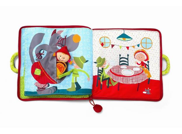Мягкая книжка-игрушка Lilliputiens «Путешествие Красной Шапочки», фото , изображение 7