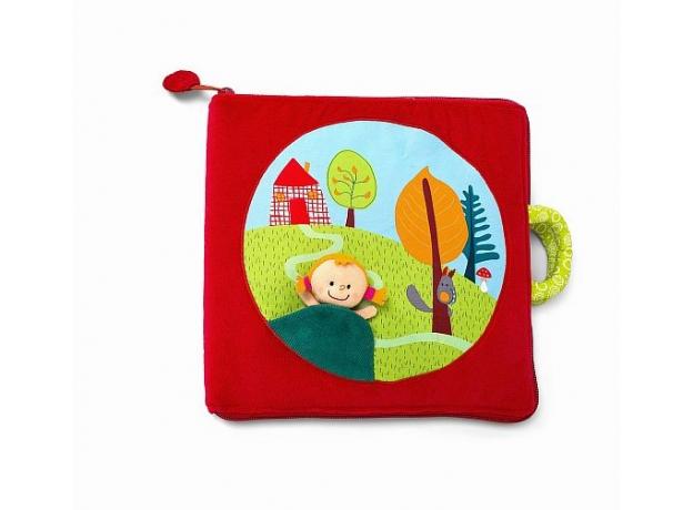 Мягкая книжка-игрушка Lilliputiens «Путешествие Красной Шапочки», фото , изображение 9