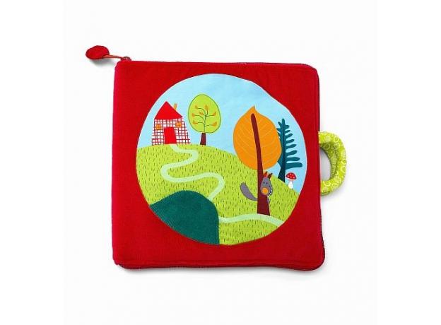 Мягкая книжка-игрушка Lilliputiens «Путешествие Красной Шапочки», фото , изображение 10