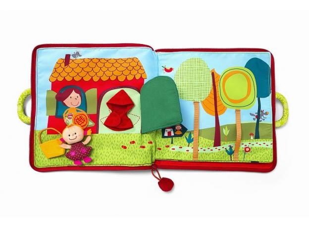 Мягкая книжка-игрушка Lilliputiens «Путешествие Красной Шапочки», фото , изображение 12