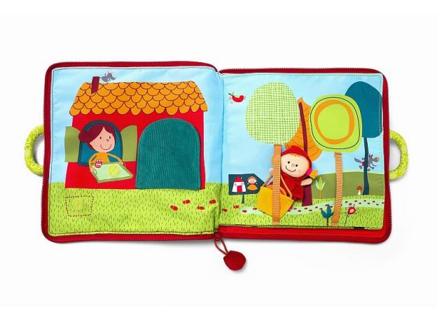 Мягкая книжка-игрушка Lilliputiens «Путешествие Красной Шапочки», фото , изображение 13