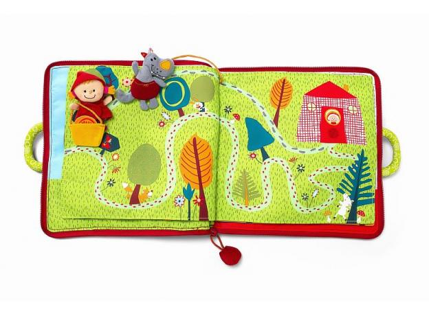 Мягкая книжка-игрушка Lilliputiens «Путешествие Красной Шапочки», фото , изображение 14