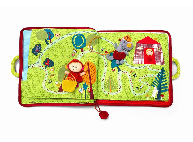 Мягкая книжка-игрушка Lilliputiens «Путешествие Красной Шапочки», фото , изображение 15