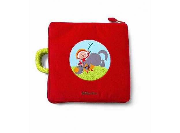Мягкая книжка-игрушка Lilliputiens «Путешествие Красной Шапочки», фото