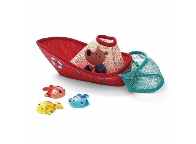 Игрушка для ванны Lilliputiens «Рыбацкая лодка», фото , изображение 2